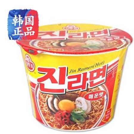 韩国进口 OTTOGI不倒翁真拉面奥土基辣味碗面110g