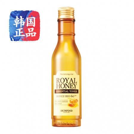 韩国正品SKIN FOOD蜂蜜活颜蜜润爽肤水180ml