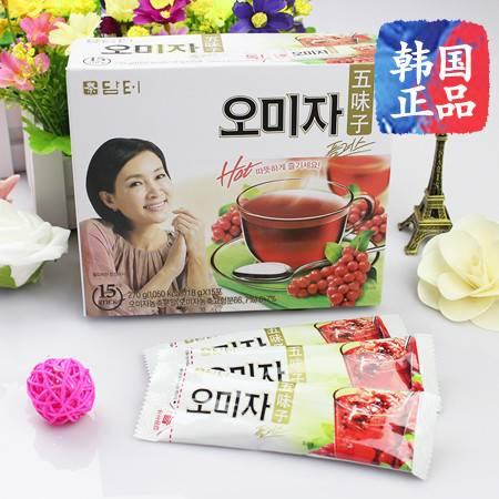 韩国进口 丹特五味子 条装热水冲饮茶 滋补营养,丹特养生茶 270g