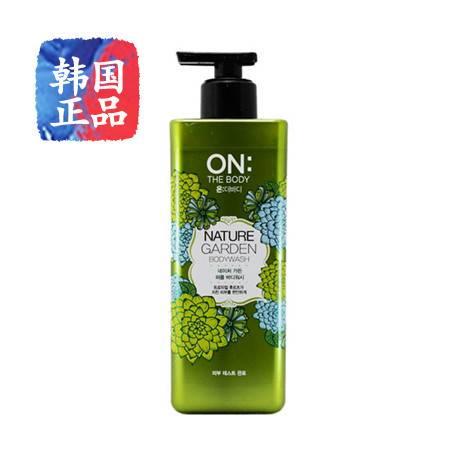 韩国进口LGonthebody香水沐浴露天然护肤香水型滋润肌肤保湿500ml