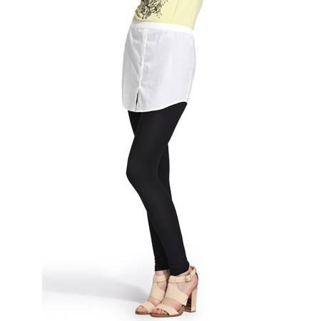 梦芭莎女装 衬衫假两件显瘦打底裤035414202