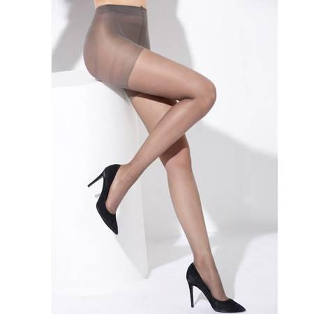 梦芭莎 薄款防勾丝美腿弹力收腹提臀加档包芯连裤瘦腿袜