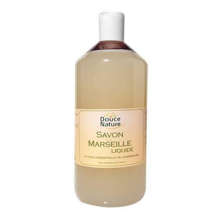 柔舒然Douce Nature 法国进口天然马赛 沐浴 液体皂(薰衣草)1L