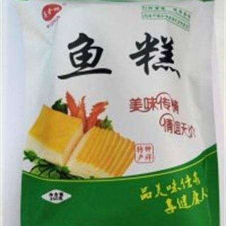 湖北特产 金林鱼糕 正宗草鱼鱼糕 350克/袋 口味鲜美