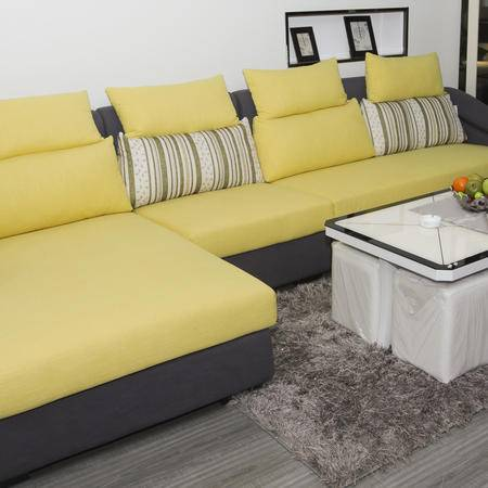 DIOU迪欧布艺沙发DO-1026 创意空间