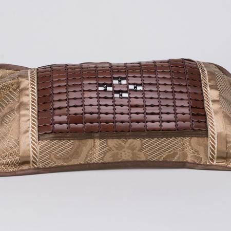 晶灿灿 麻将竹磁石冰丝枕头 花草填充茶香夏季凉席磁疗保健枕
