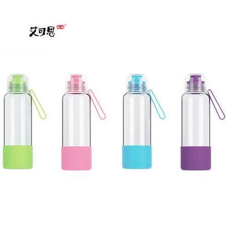 艾可思 米可玻璃杯 480ML U-01350 颜色随机配送