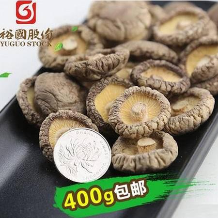 随州肉厚无根家用小香菇干货200g*2袋装包邮农家土特产金钱菇冬菇