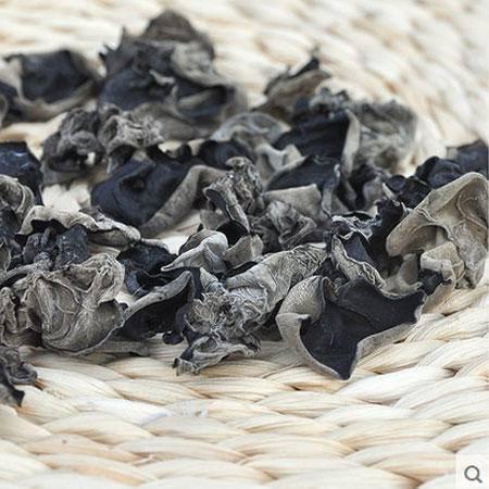 农家家用200g剪根1-2厘米小香菇200g无根黑木耳组合干货包包邮
