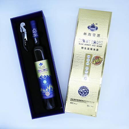 野生蓝莓冰酒(金条)500ml