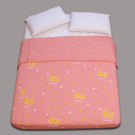 韩版纯棉空调被夏凉被 全棉学生夏季薄被子