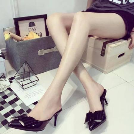2016春夏季新款时尚高跟女凉鞋细跟鱼嘴防水台一字式扣带韩版女鞋
