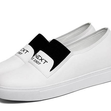 乐福鞋休闲运动板鞋2016春季新款韩版小白鞋女平底女鞋子潮