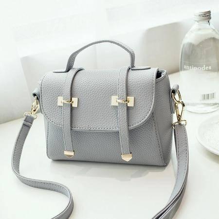 2016夏季新款韩版PU皮单肩斜跨女包 甜美小清新手提包