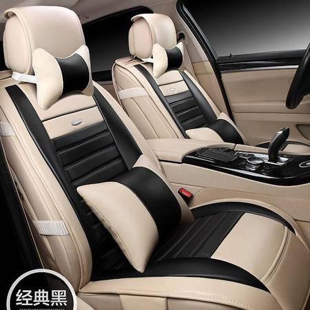 YR高档款皮革汽车坐垫 新款丹尼皮超纤座垫座套内饰用品饰品