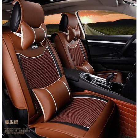 LM机编配皮革汽车坐垫 新款夏季四季座垫子座套内饰用品饰品