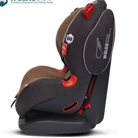 人马座标准版儿童安全座椅9个月-12岁咖啡儿童座椅