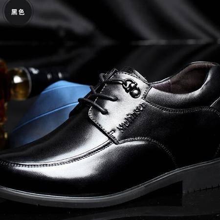 男式隐形内增高男鞋6cm增高鞋商务正装皮鞋男单鞋英伦鞋子