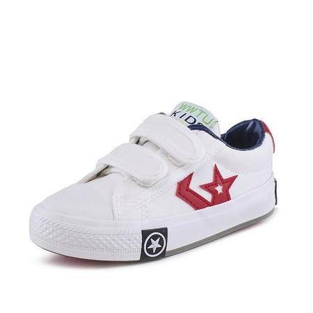 帆布鞋低帮童鞋男童板鞋女童鞋子布鞋韩版2016春秋款鞋