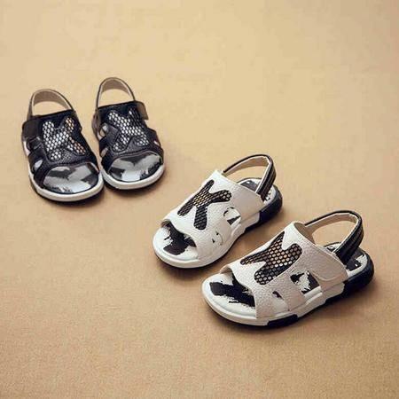 男女童凉鞋2016夏季新款童鞋中大童宝宝软底男孩凉鞋儿童沙滩鞋潮