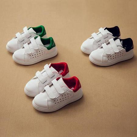 2016夏季新款童鞋 韩版小白鞋爆款儿童鞋子休闲运动鞋夏