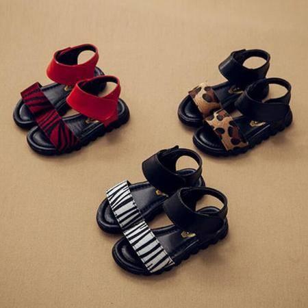 女童凉鞋儿童魔术贴公主鞋2016夏季韩版小女孩鞋防滑沙滩鞋童鞋潮