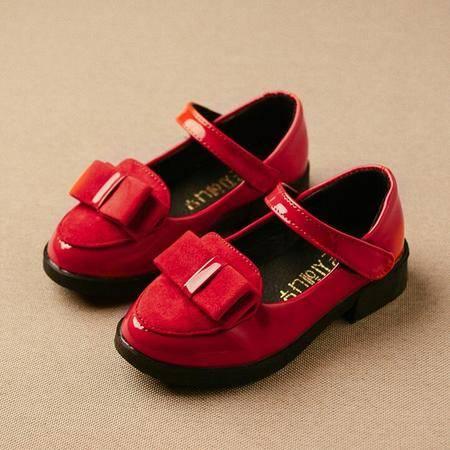 2016春季新款韩版公主鞋方口鞋童鞋单鞋儿童皮鞋子潮女童