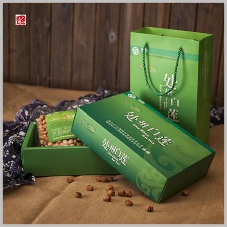 六江源 绿色食品处州白莲 一级380克*2礼盒