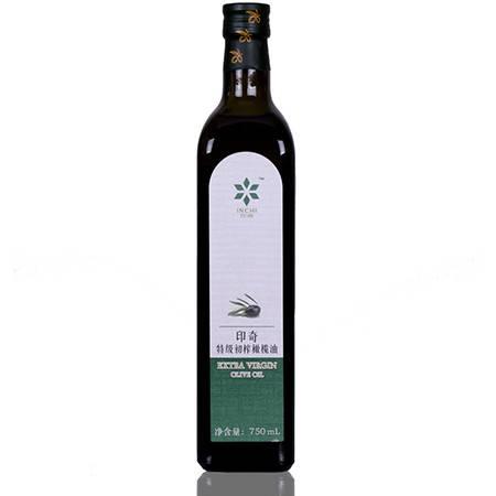 西双版纳印奇特级初榨橄榄油食用油750ml