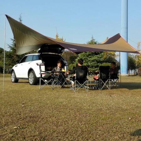 户外用品 超大户外帐篷 天幕野营帐篷地席 防紫外线防雨遮阳篷