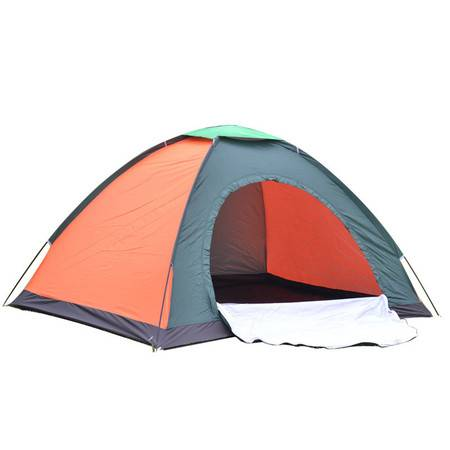 双人单层帐篷2-3人野外露营帐篷 户外休闲野营帐蓬 礼品帐篷批发