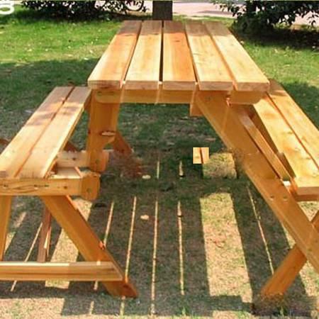 户外桌椅批发 户外折叠桌椅 花园庭院桌椅 两用桌椅 中号