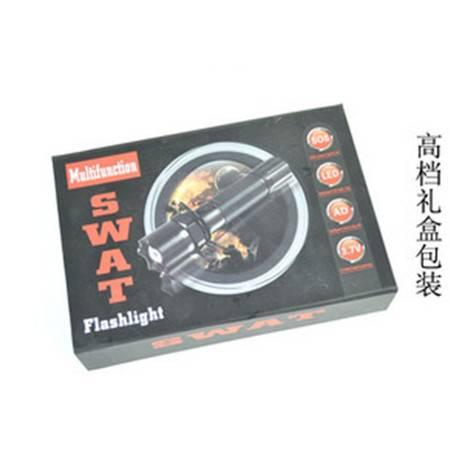 沙漠之狐Q5强光手电筒 远射手电 调焦变焦手电筒 手电筒批发