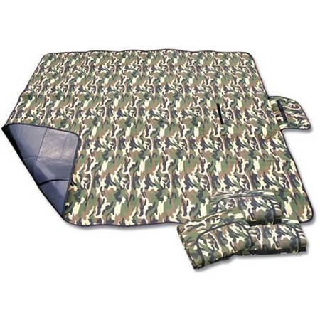 迷彩野餐垫批发 防潮垫 折叠可拎户外垫 地席 1.5*1.8CM