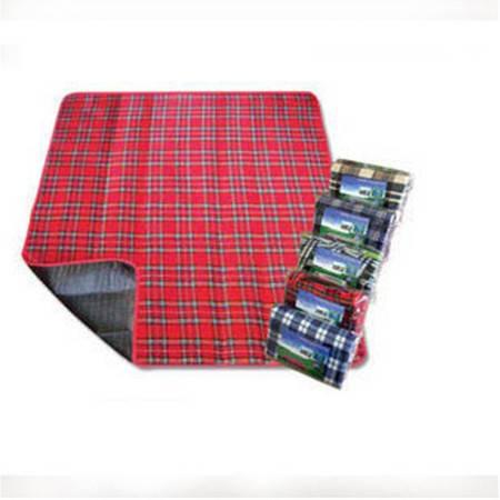 野餐垫批发 绒面野餐垫 三层复合爬行垫 加厚防潮垫 1.5*1.8M