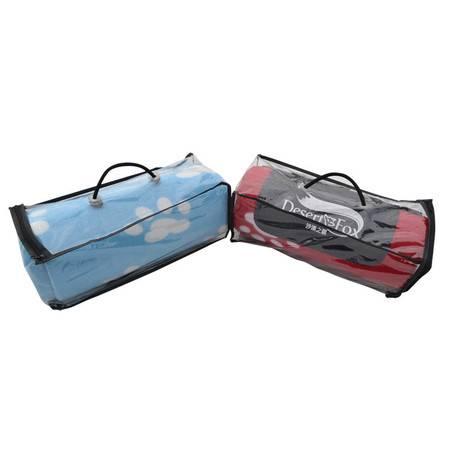 沙漠之狐 大脚丫双面绒野餐垫 户外防潮垫儿童爬行垫 折叠旅游垫