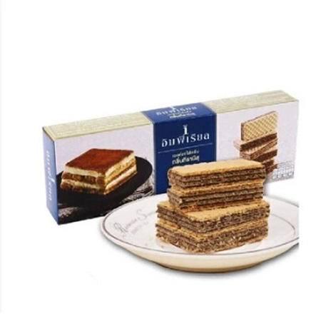 【泰国原产地进口】帝皇牌意大利蛋糕味夹心威化饼干100g