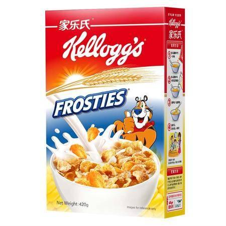 【泰国原产地进口】家乐氏进口谷物早餐麦片香甜玉米片