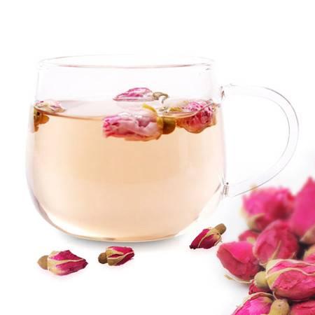 【自制花茶】自种自采自摘制成 纯天然 无添加纯天然自晒玫瑰花茶
