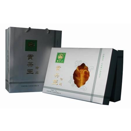 2016新茶上市 湖北十堰竹溪贡茶王有机绿茶银色礼盒装500g