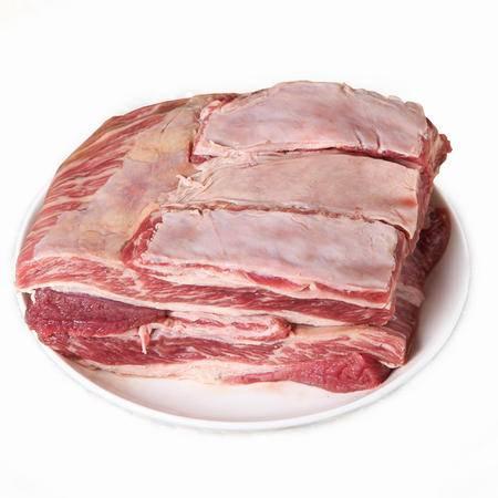 新疆牛肉 生鲜排酸牛腩肉2斤  新鲜冷冻牛肉