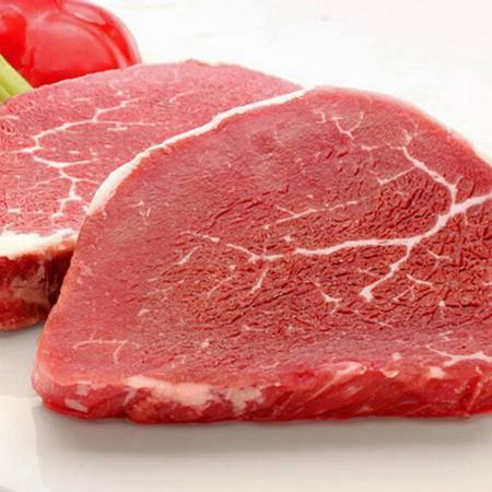 新疆牛肉 生鲜排酸牛柳2斤 新疆草原清真牛肉 牛里脊肉 新鲜牛肉