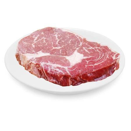 新疆牛肉 生鲜排酸牛眼肉2斤 草原清真牛肉 原切牛扒 非腌制眼肉牛排