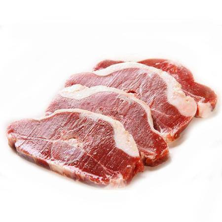 新疆草原清真羔羊肉 生鲜排酸羊脊排500g 带肉羊蝎子排 新鲜冷冻羊肉