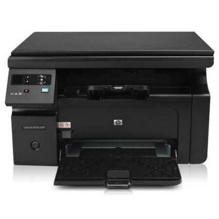 惠普(HP) LaserJet Pro M1136 黑白多功能激光一体机打印 复印 扫描