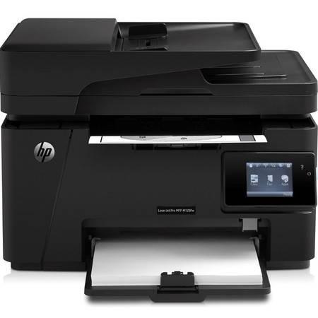 惠普(HP) LaserJet Pro MFP M128fp一体机(打印 复印 扫描 传真