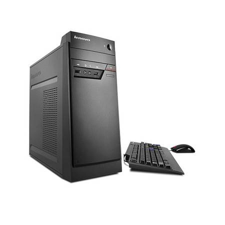 联想(Lenovo)商用办公台式机电脑 带PCI 串口 启天 B4650 标配主机