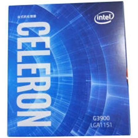 英特尔(Intel)赛扬双核 G3900 1151接口 盒装CPU处理器