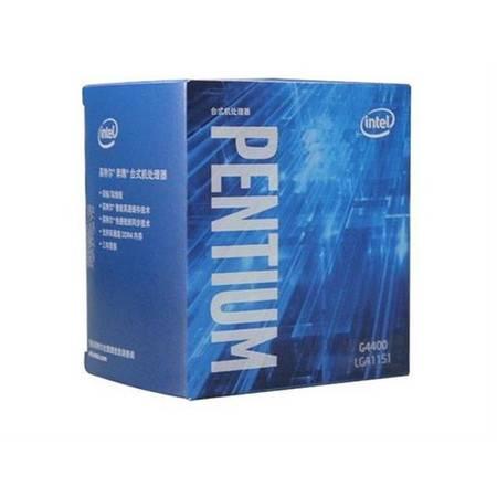 英特尔(Intel)奔腾双核 G4400 1151接口 盒装CPU处理器
