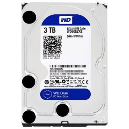 西部数据(WD)蓝盘 3TB SATA6Gb/s 64M 台式机硬盘